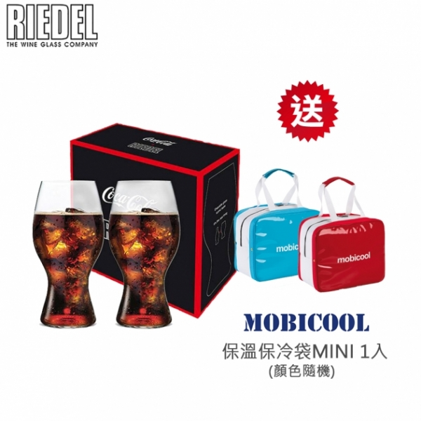 可口可樂杯(1組2入) 0414/21【贈MOBICOOL MINI保冷袋1入(顏色隨機)】 1